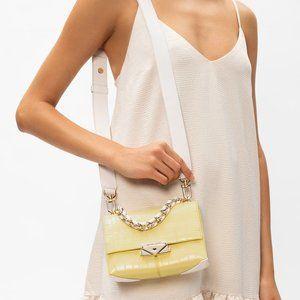 Michael Kors Cece crocodile-embossed shoulder bag